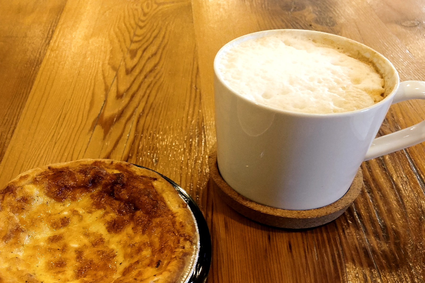 Velvet Sky Bakery - Pumpkin Latte- Quiche