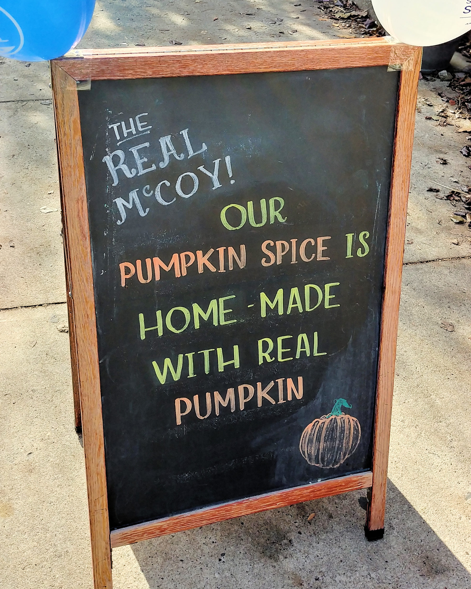 Velvet Sky Cafe - Real Pumpkin Latte