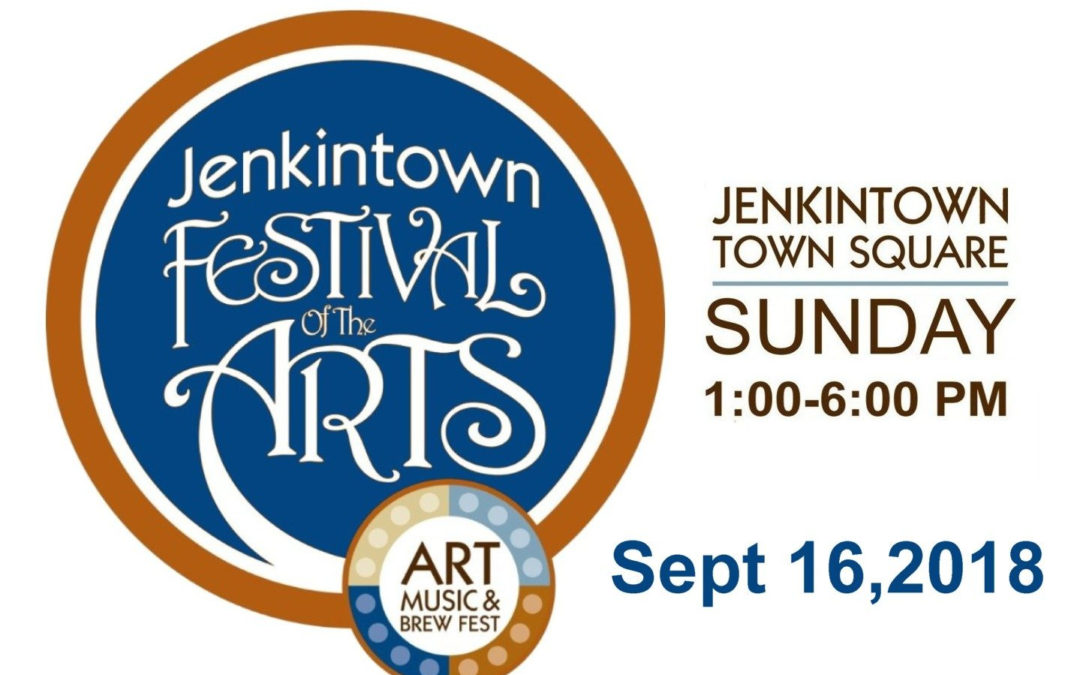Jenkintown Festival of the Arts Sept. 16, 2018