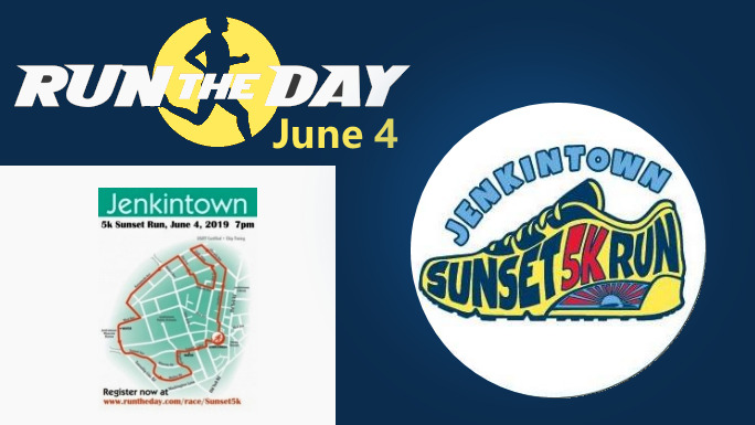 Jenkintown Sunset 5K Race June 4th, 2019