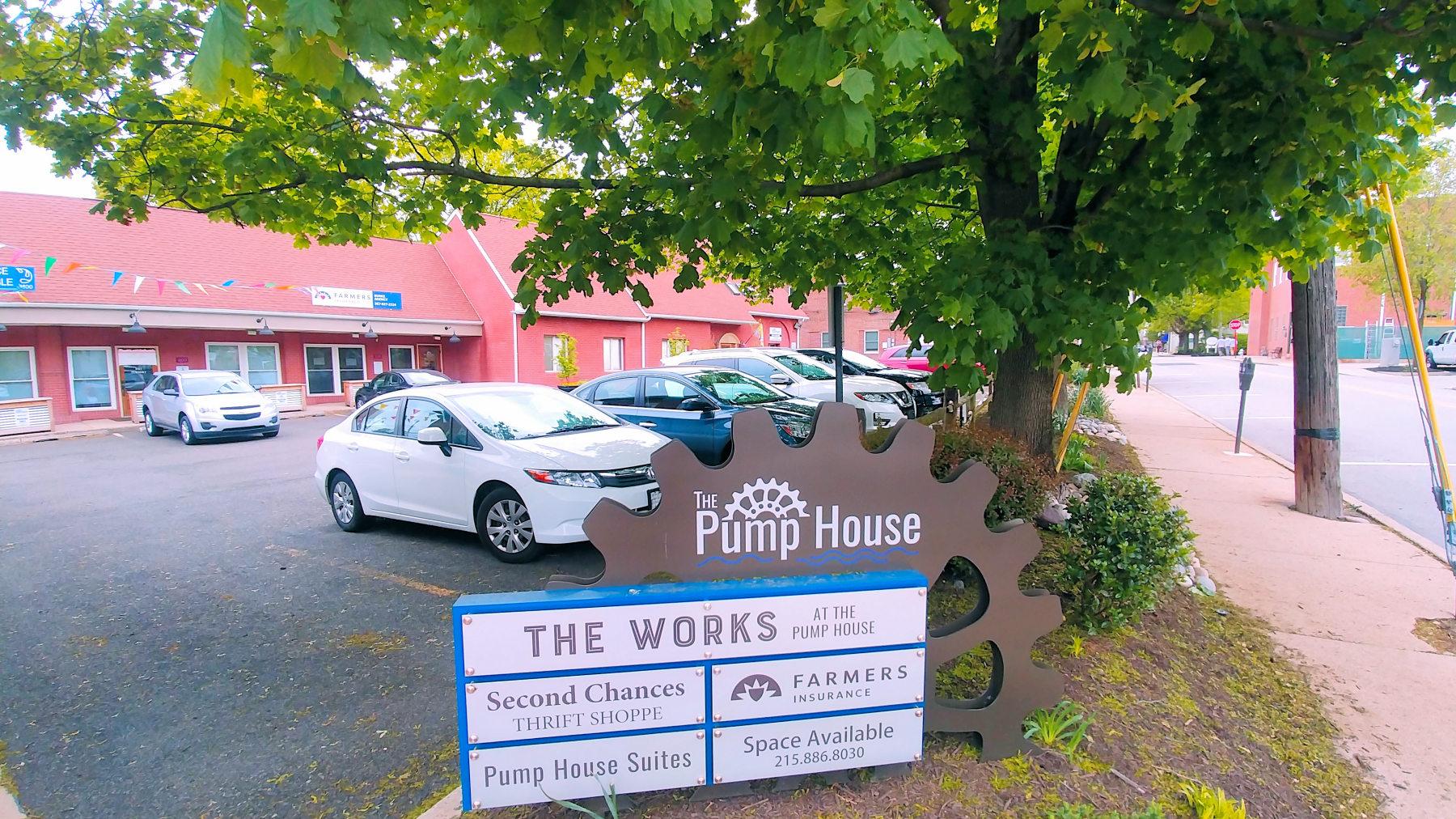 201 Leedom Parking Pump House